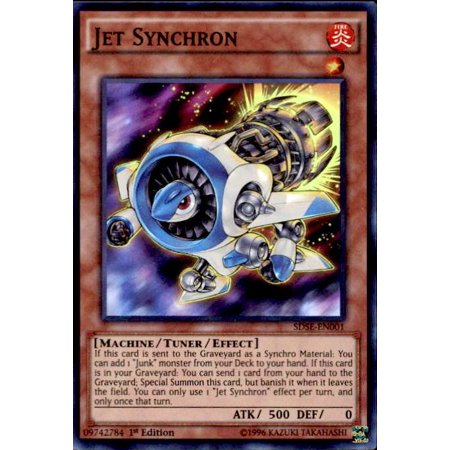YuGiOh Synchron Extreme Structure Deck Jet Synchron (Deco Jet)