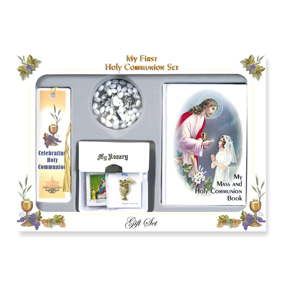 IceCarats Girls First Holy Communion Gift Set  Religious ...