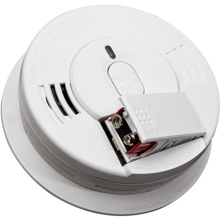 Kidde Hardwire Ionization Smoke Alarm with Front Battery Door I12060