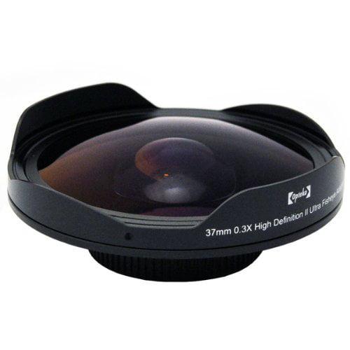 Opteka Platinum Series 0.3X HD Ultra Fisheye Lens for Son...