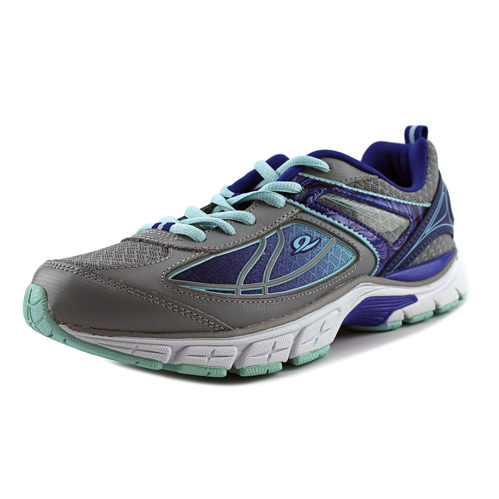 Easy Spirit e360 Victory Lap Women Round Toe Synthetic Gray Sneakers by Easy Spirit e360