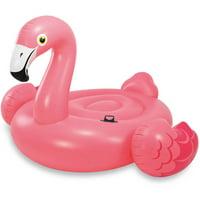 "Intex Inflatable Flamingo Ride On Pool Float, 56"" x 54"" x 38"""