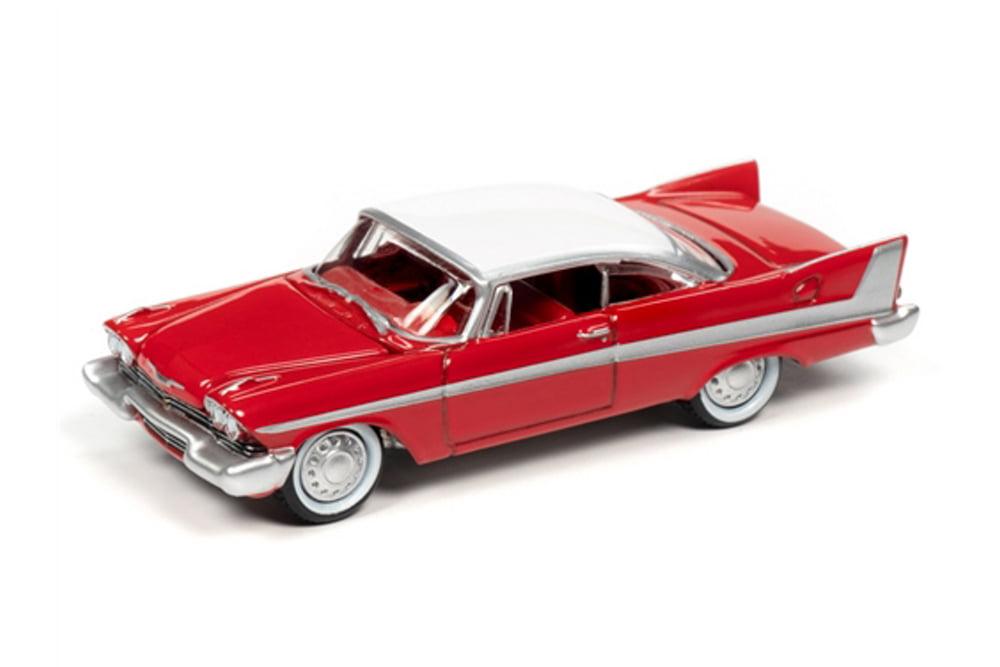 Johnny Lightning 1:64 CHRISTINE 1958 Plymouth Fury Daytime Version Red JLSP095