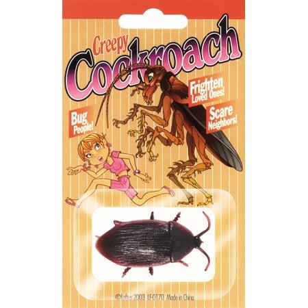 Loftus Creepy Realistic Cockroach Decoration Prop, Black