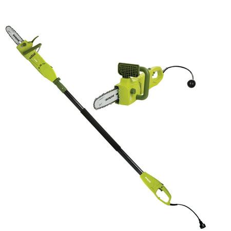 Sun Joe SWJ806E 8 Amp 8 in. 2-in-1 Convertible Pole Chain Saw (Best Corded Electric Pole Saw)