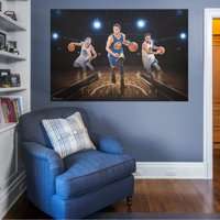 Fathead Stephen Curry: Montage Mural - Huge Officially Licensed NBA Removable Wall Graphic