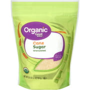 Great Value Organic Granulated Cane Sugar, 2 lbs