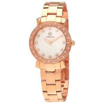Cabochon Carmel Crystal Ladies Watch (CABOCHON-16604-RG-22)