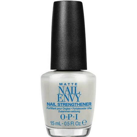 OPI Nail Envy Nail Strengthener, Matte, 0.5 Fl Oz (Opi Nail Envy Nail Strengthener Sensitive And Peeling)