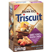 Nabisco Triscuit Brown Rice Baked with Sweet Potato Roasted Sweet Onion Crackers, 9 oz