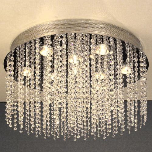 Classic Lighting Crystal Rain 10 Light Chandelier