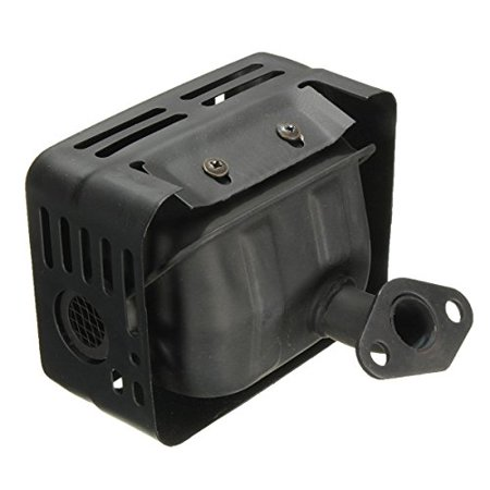 Lumix GC EXHAUST MUFFLER SYSTEM WITH HEAT SHIELD FOR HONDA GX160 GX200 ENGINE MOTORS 5.5HP 6.5HP