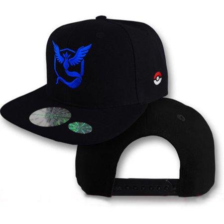 Pokemon Go Amine Baseball Mens Boy Trainer Team Sports Hat Cap Summer Camp Hats (Pokemon Center Hat)