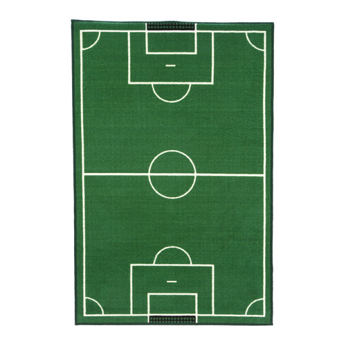 Fun Rugs Fun Time Soccer Field Sports Area Rug