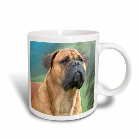 - 3dRose Bullmastiff, Ceramic Mug, 15-ounce