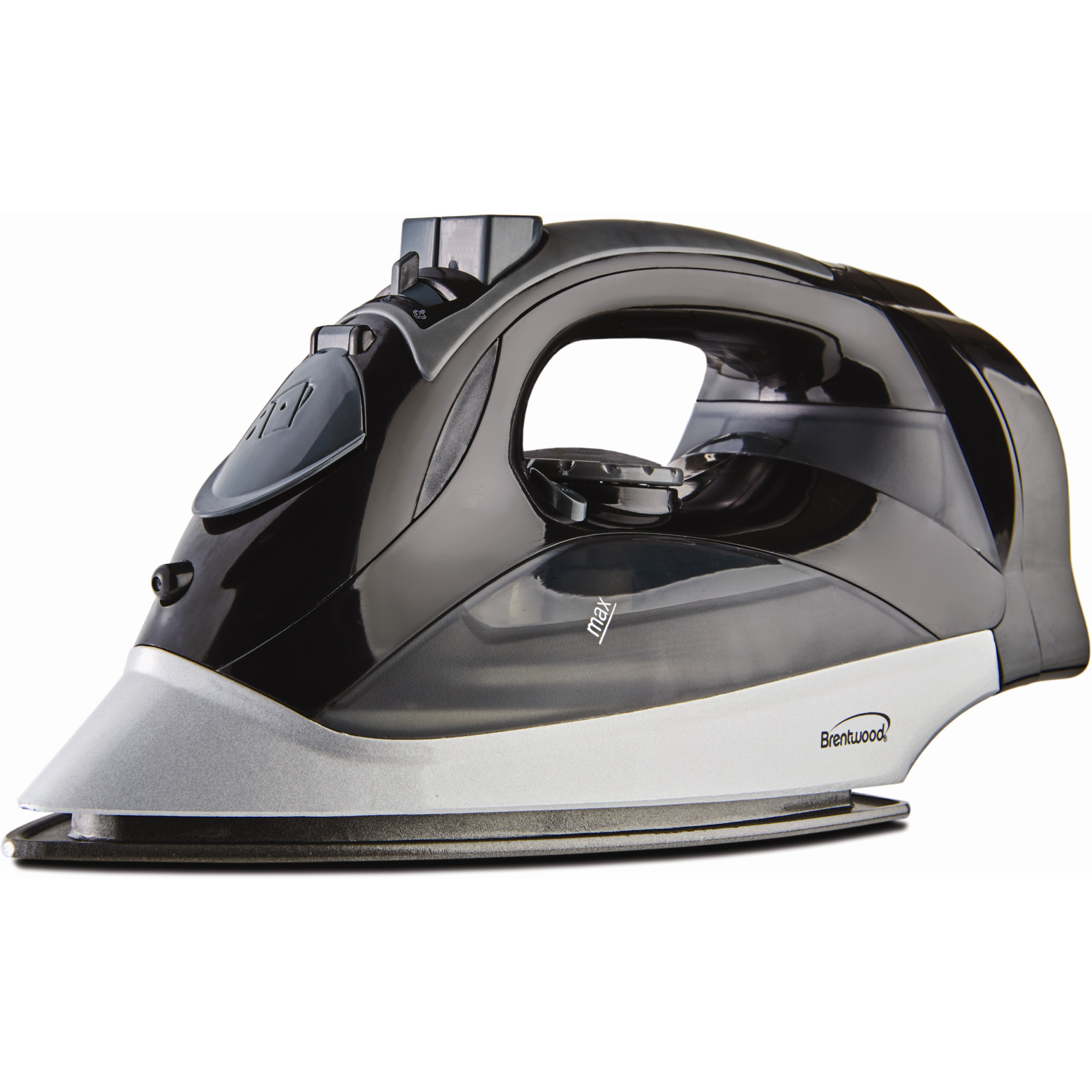 Brentwood [mpi-59w] Steam Iron With Retractable Cord [white] - 1200 W - White (mpi59b)
