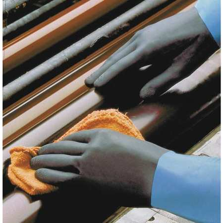 Showa Best Size 9  Size 9 Neoprene/Natural Rubber LatexChemical Resistant Gloves