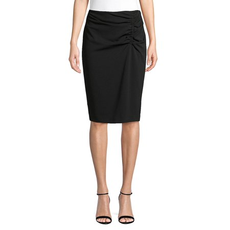 Anne Klein Lined Skirt (Ruched Pencil Skirt )