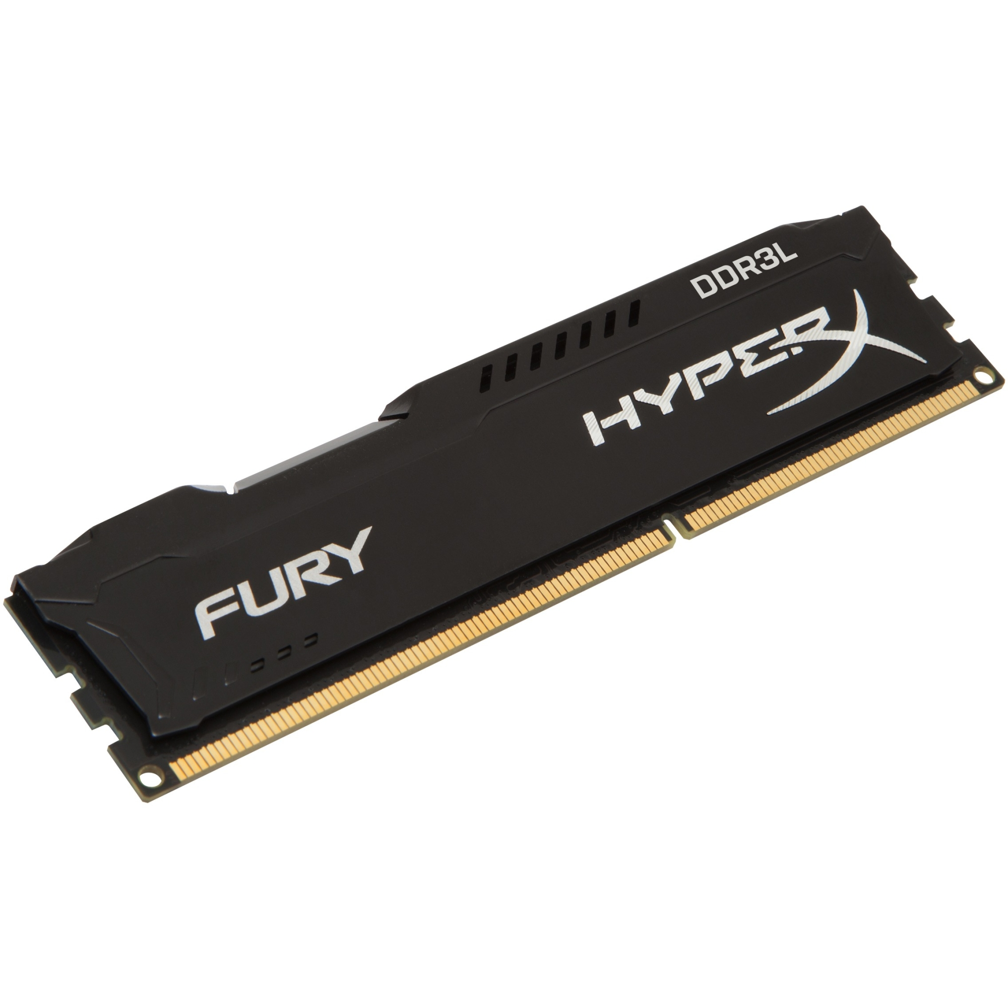 Kingston HyperX FURY Memory Low Voltage - 8GB Module - DDR3L 1600MHz - 8 GB (1 x 8 GB) - DDR3L SDRAM - 1600 MHz - 1.35