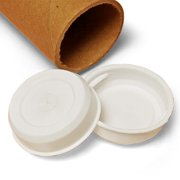 """Plastic Plugs for Mailing Tubes 3"""" by Paper Mart"""