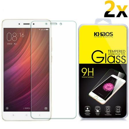 2x KS Premium Tempered Glass Screen Protector Protective For Xiaomi Redmi Note
