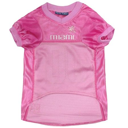 on sale dc13b 7dd5d Miami Hurricanes Pink Pet Jersey - Medium   Walmart Canada