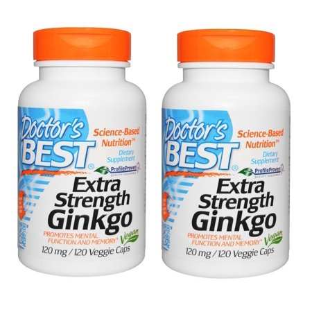 Doctor's Best - Extra Strength Ginkgo, 120 mg, 120 Veggie Caps, 2