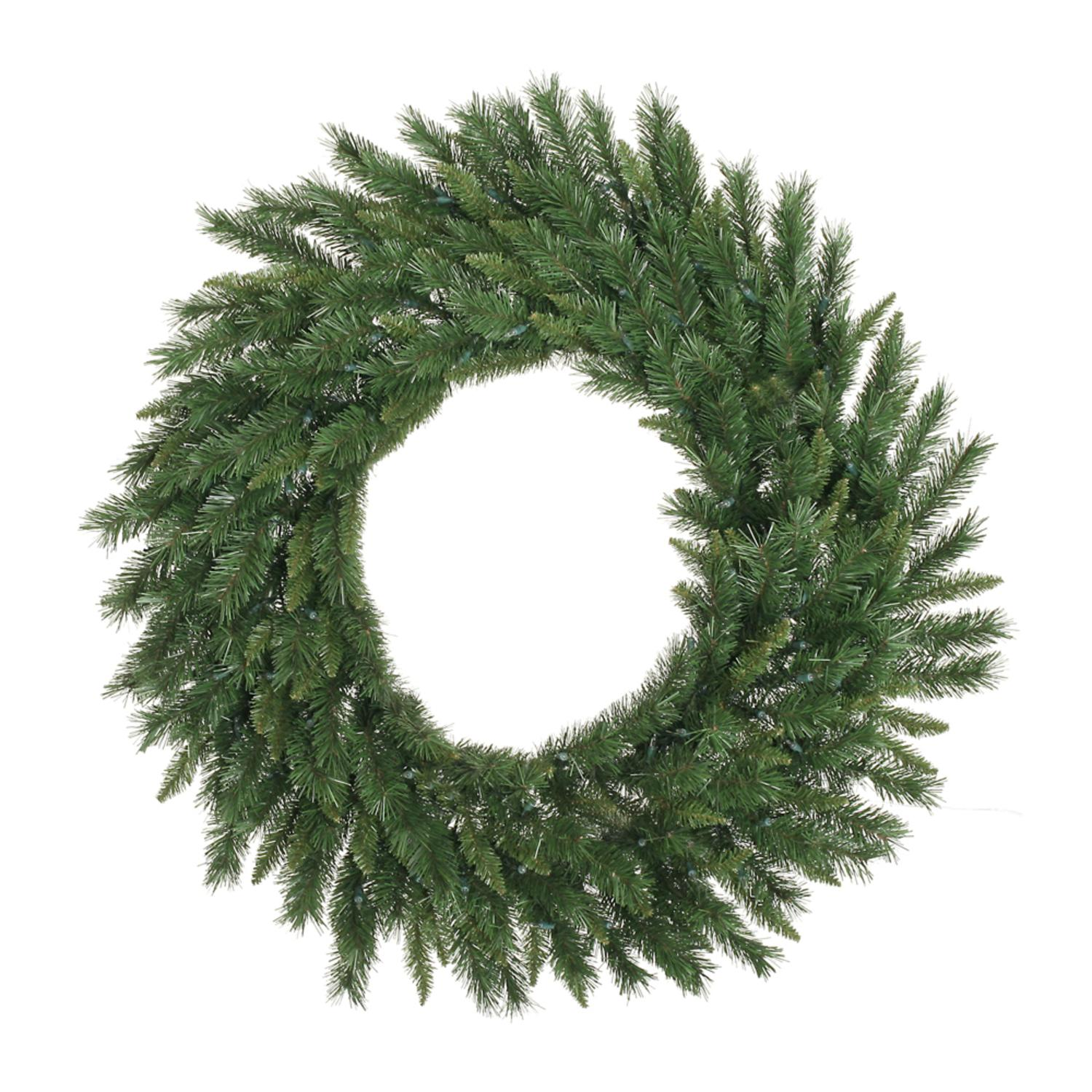 "60"" Artificial Imperial Pine Christmas Wreath - Unlit"