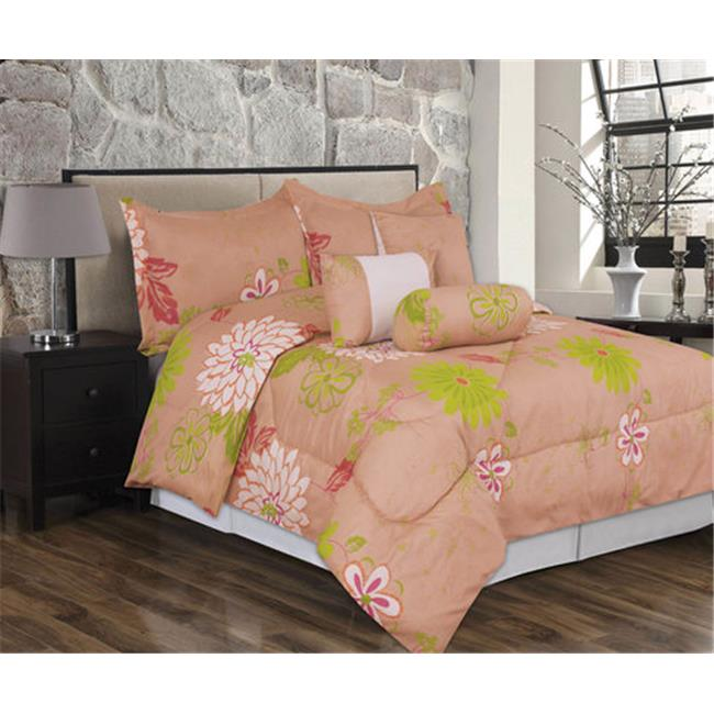J&V Textiles Savannah Queen, Extra-Soft Printed Comforter Collection