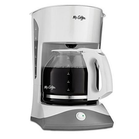 Mr. Coffee SK12 12-Cup Manual Coffeemaker, White - Walmart.com