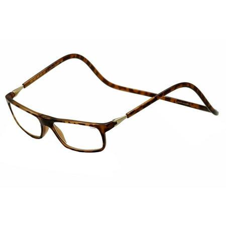 clic reader eyeglasses executive tortoise full rim magnetic reading (Clic Readers)