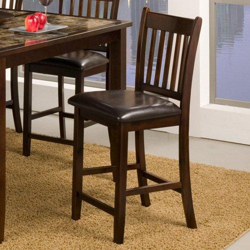 Alpine Furniture Capitola Pub Chair - Espresso - Set of 2