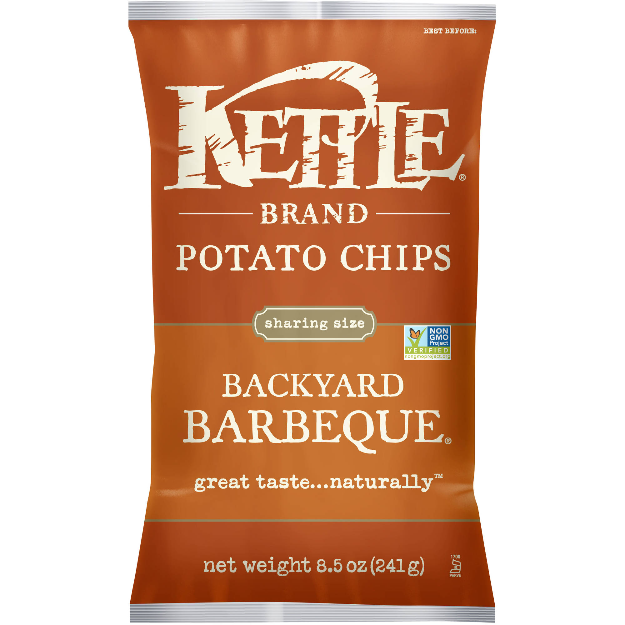 Kettle Brand Backyard Barbeque Potato Chips, 8.5 oz
