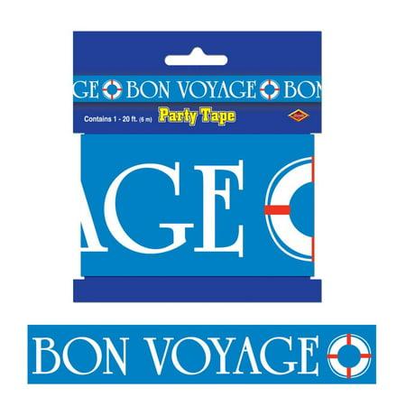 (12ct) Nautical Party Decoration Bon Voyage Party Tape (Bon Voyage Decorations Ideas)