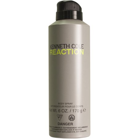 Kenneth Cole Reaction Body Spray, 6 oz