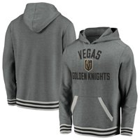 Vegas Golden Knights Fanatics Branded Upperclassmen Vintage Pullover Hoodie - Gray