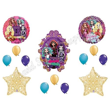 ever after high filagree happy birthday balloons decoration supplies monster hexcellent by party supply](Monster High Happy Birthday)