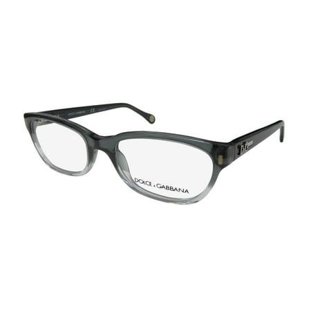 4fc3b33268 New Dolce Gabbana 1205 Womens Ladies Cat Eye Full-Rim Transparent Gray    Clear Frame Demo Lenses 50-17-135 Flexible Hinges Eyeglasses Eye Glasses -  Walmart. ...