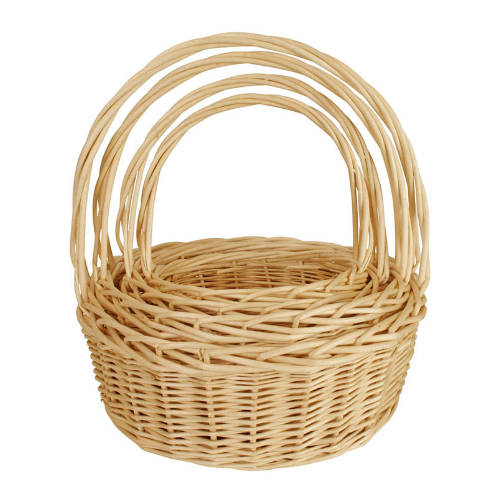 Wald Import Willow Basket - Set of 4