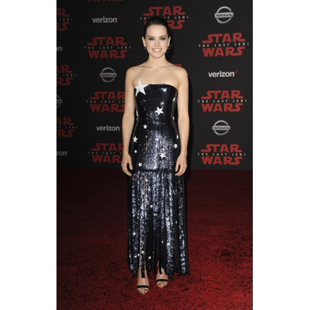 Daisy Ridley At Arrivals For Star Wars The Last Jedi Premiere Shrine Auditorium Los Angeles Ca December 9 2017 Photo By Elizabeth GoodenoughEverett Collection Celebrity