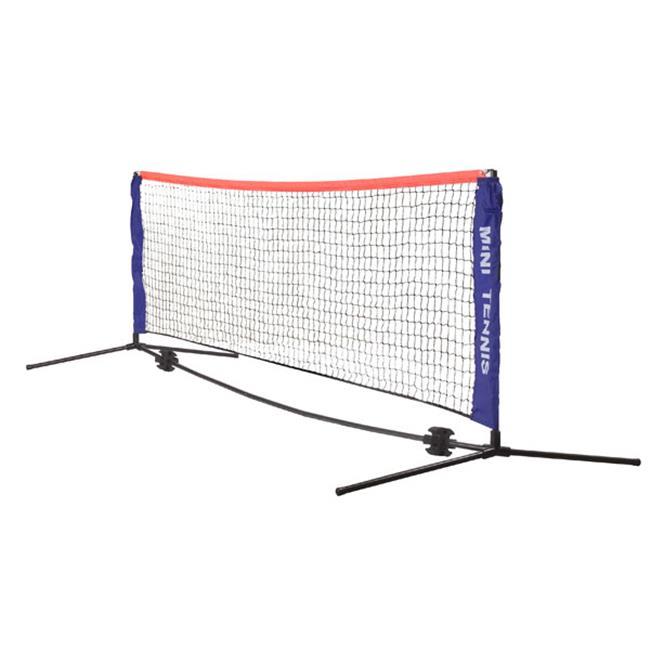 Mini Tennis Net Set, Blue & Black
