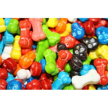 BAYSIDE CANDY SKULL & BONES CANDY , 1LB](Bones Candy)