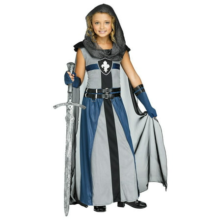 Girls Knight Costume - Gandalf The Grey Costume