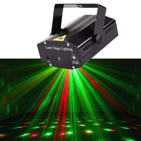 laser lights projector club r g twinkling laser led stage lighting voice activated spotlight equipment with stroboflash for home dj disco club party