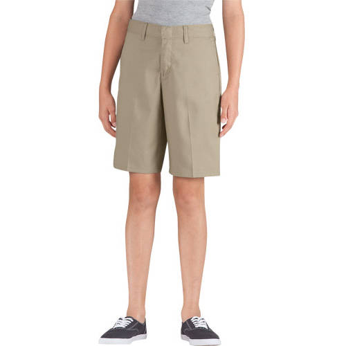 Genuine Dickies Girls' Flat Front Shorts