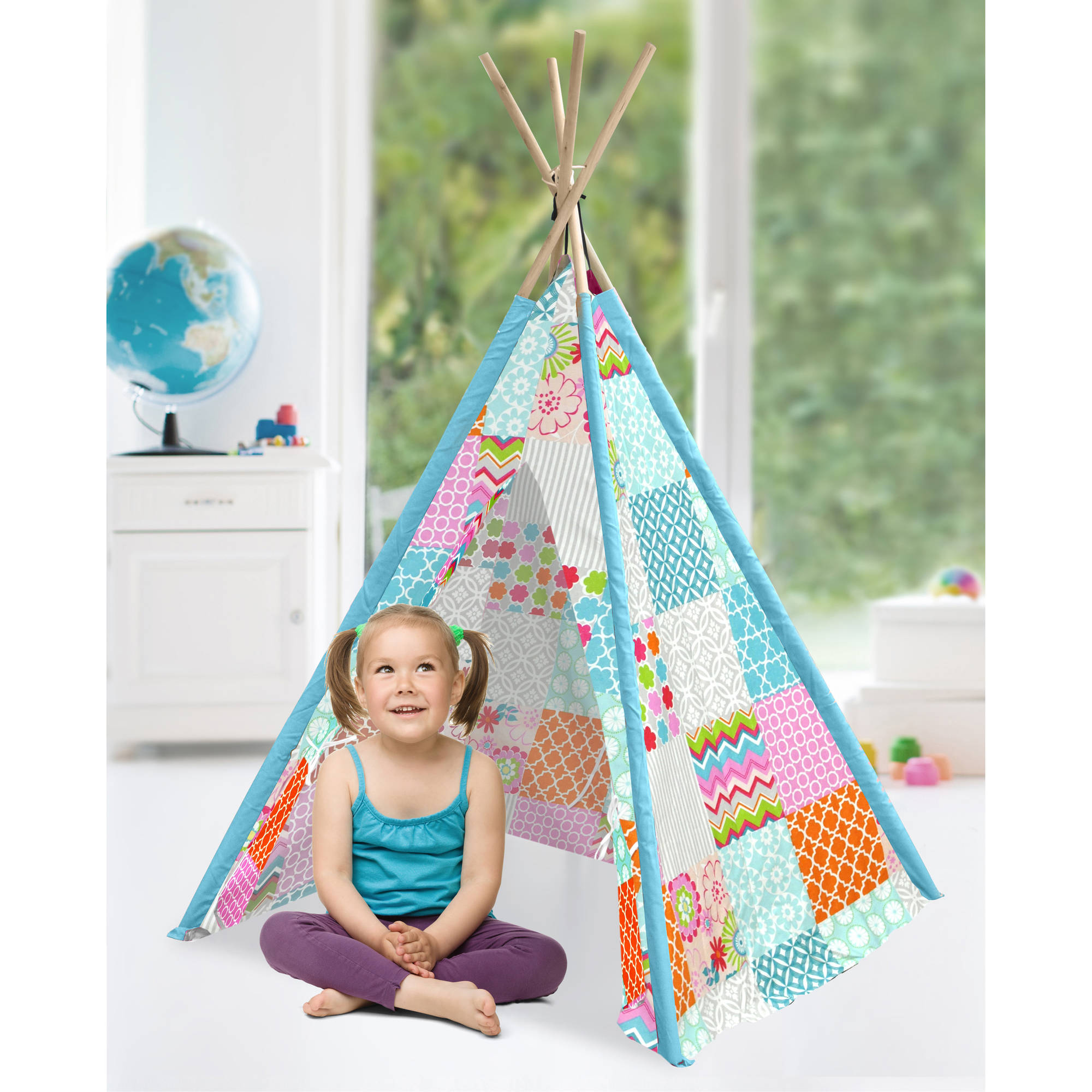 American Kids Play Tent, Patchwork - Walmart.com