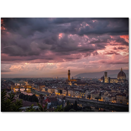 "Trademark Fine Art ""After the Storm"" Canvas Art by Giuseppe Torre"