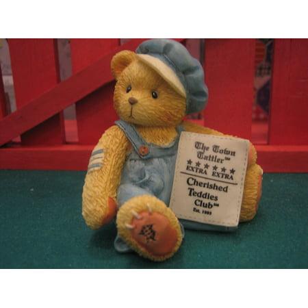 Enesco Cherished Teddies Bear (Enesco Cub E Bear 95 Charter Member Figurine..., By Cherished Teddies Ship from US)