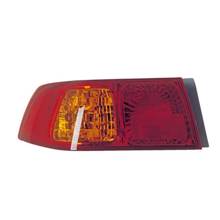 2000-2001 Toyota Camry Driver Left Side Rear Back Lamp Tail Light