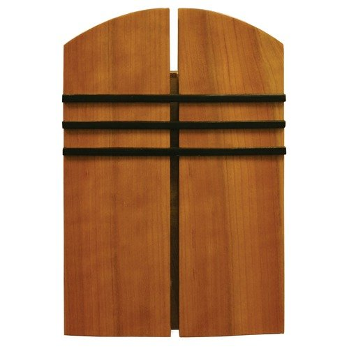 Heath-Zenith Wired Door Chime with Oak Stained Solid Birch Cover
